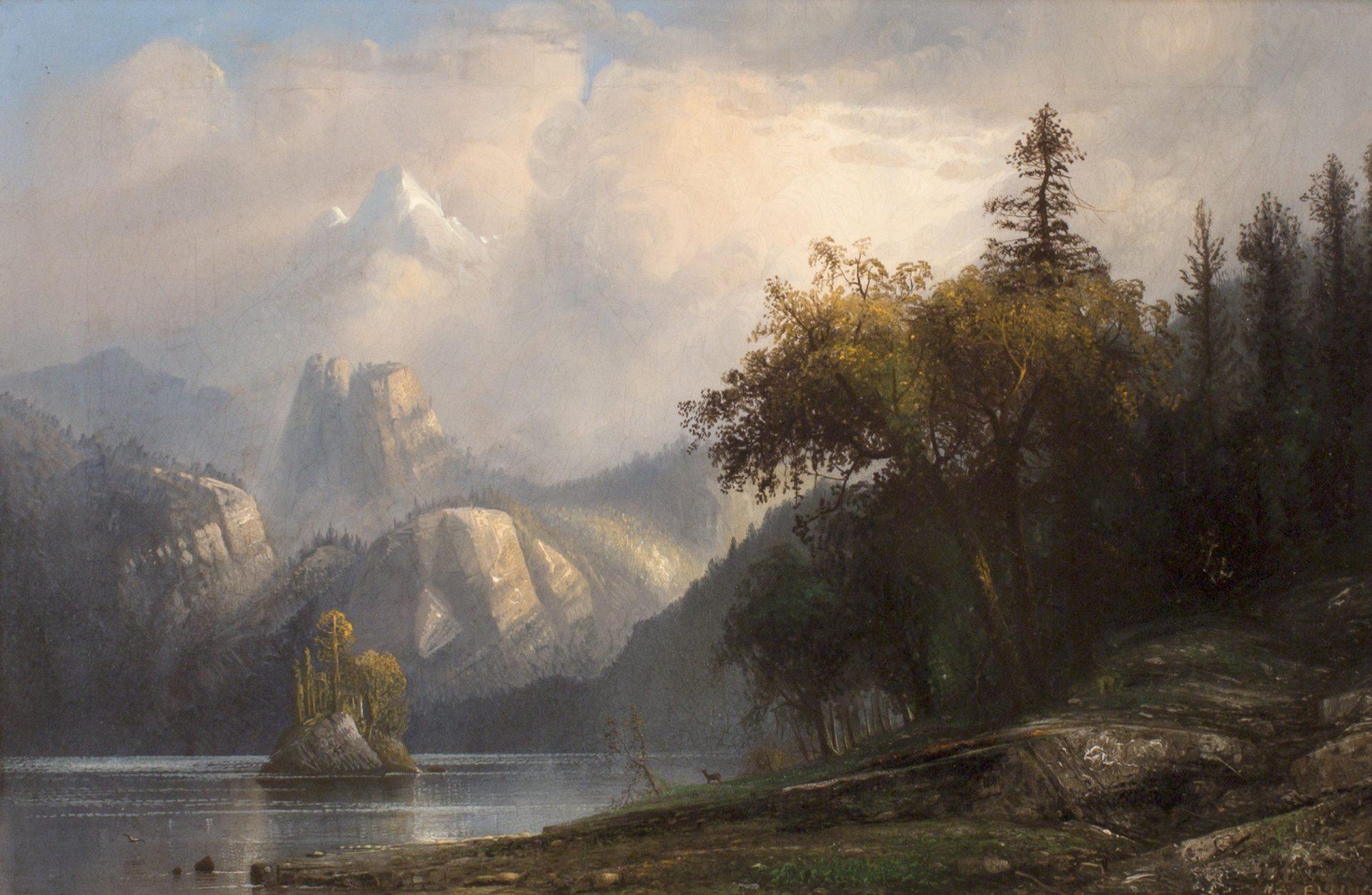 Rocky Mountain Landscape, Colorado (Henry Arthur Elkins)