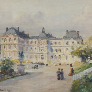 Luxembourg Palace, Paris (Colin Campbell Cooper)