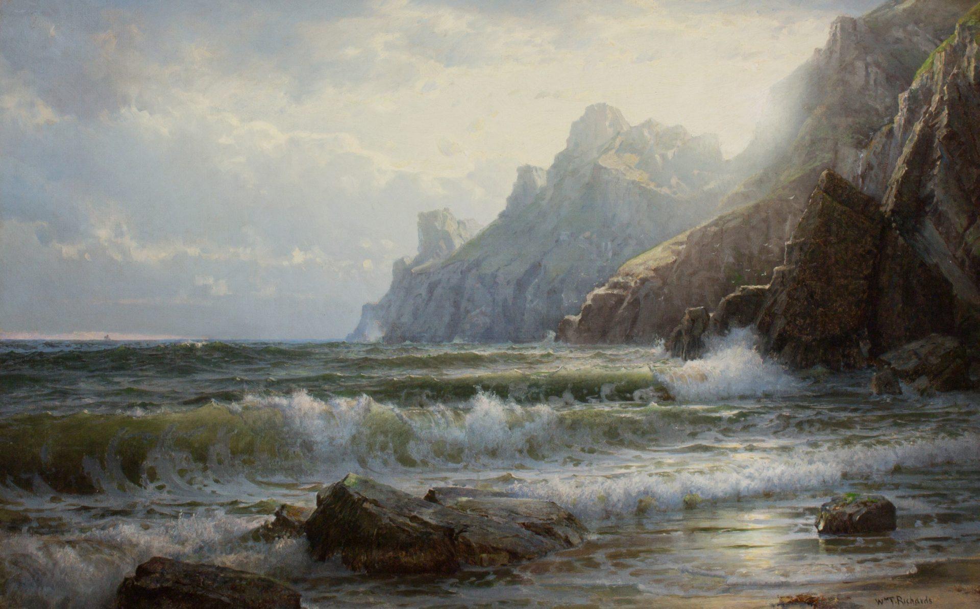 Saint Martin, Guernsey (William Trost Richards)